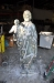 Repair of hurricane damaged St Joseph statue