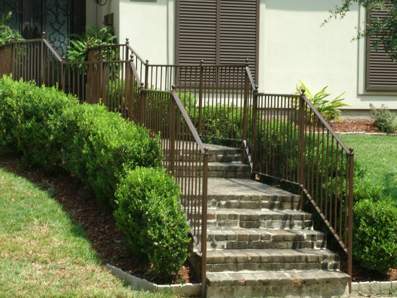 Custom step rails
