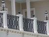 Custom balcony rail w castings