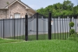 6' Plantation Fence w Arched Drive gate