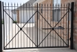 6' Traditional Single Drive gate w Liftmaster