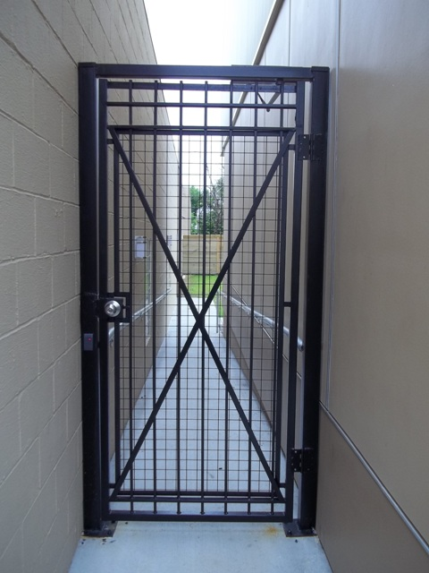 Custom Door gate w Controlled Access