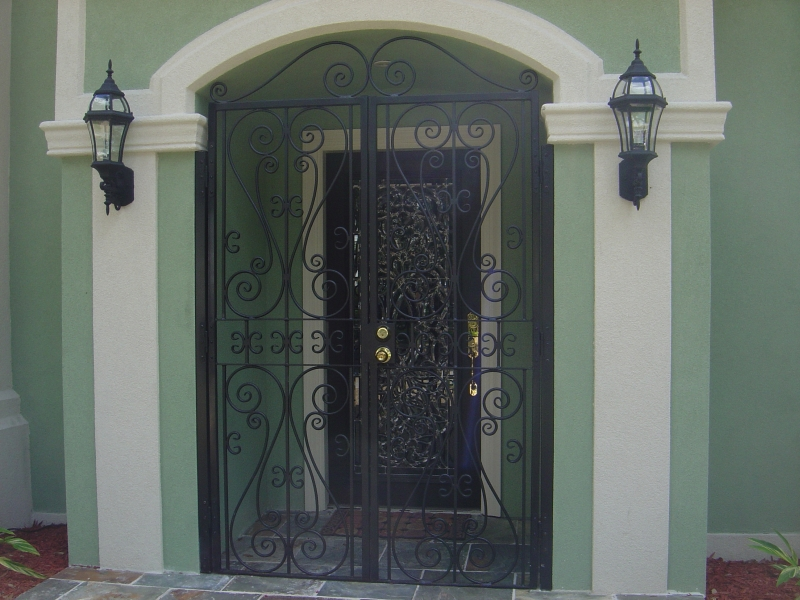 Custom French Gates