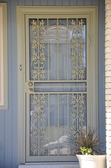 Live Oak Storm Door 3-part