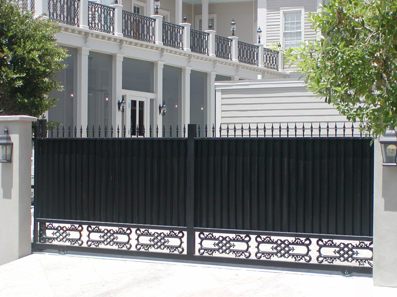 Slide Amp Cantilevered Gates Security Iron Company