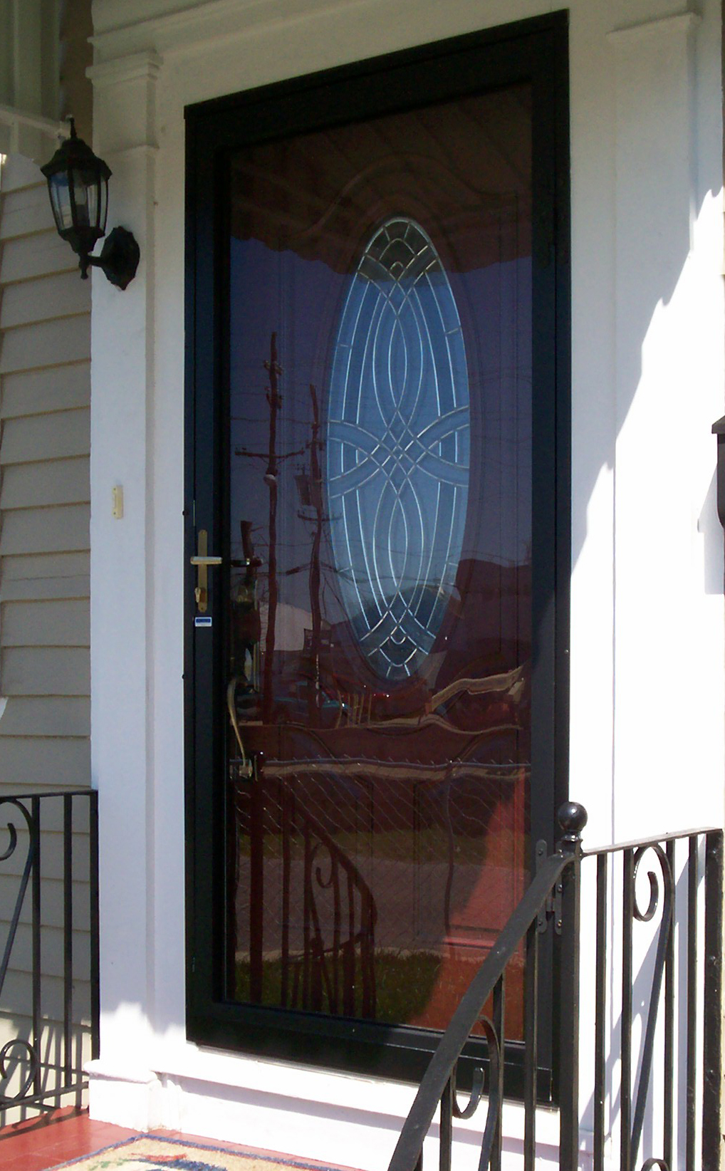 Storm Doors Security Iron Company