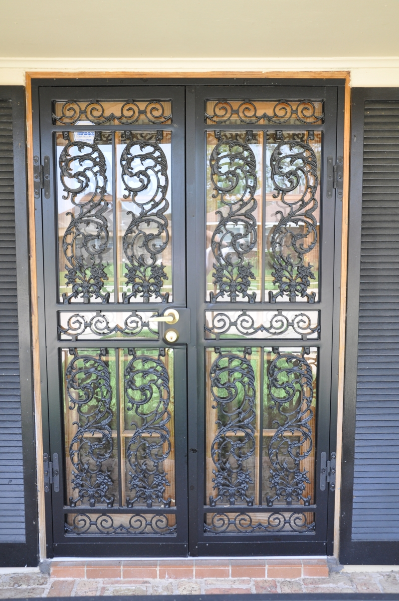 Storm Doors | Security Iron Company